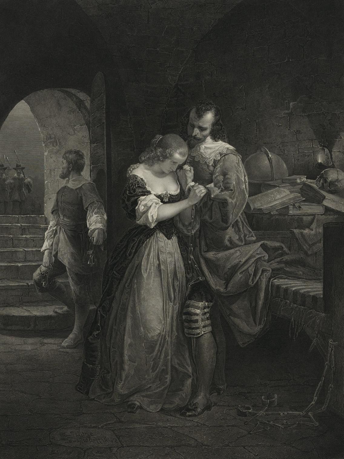 Sir Walter Raleigh, parting with his wife (1846)_Emanuel Gottlieb Leutze 57.8 x 38.1 cm_result.jpg