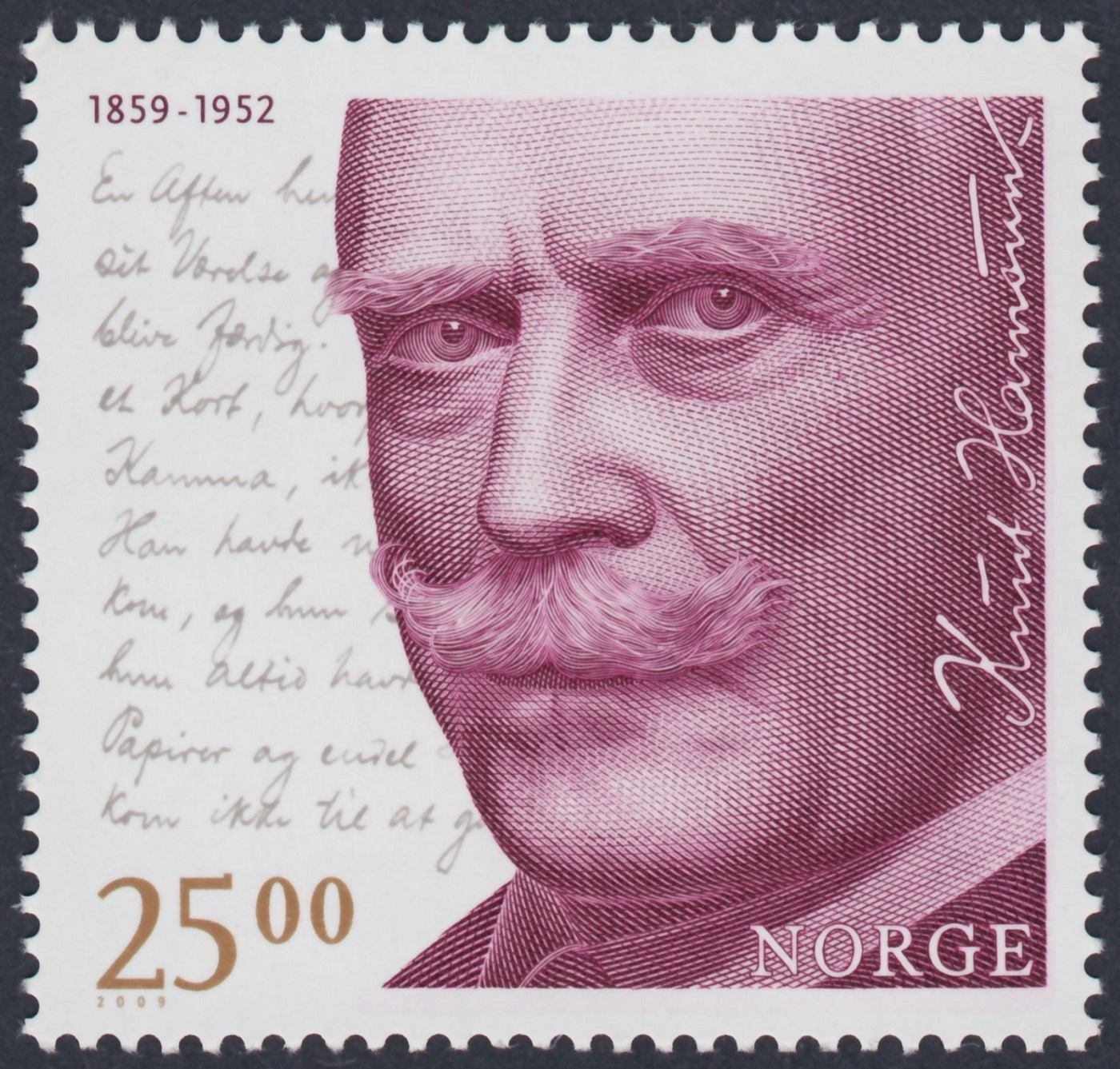 2009_Noruega_150th Anniversary of Birth of Knut Hamsun_Recess offset by Royal Joh. Enschedé, Netherlands__p_result.jpg