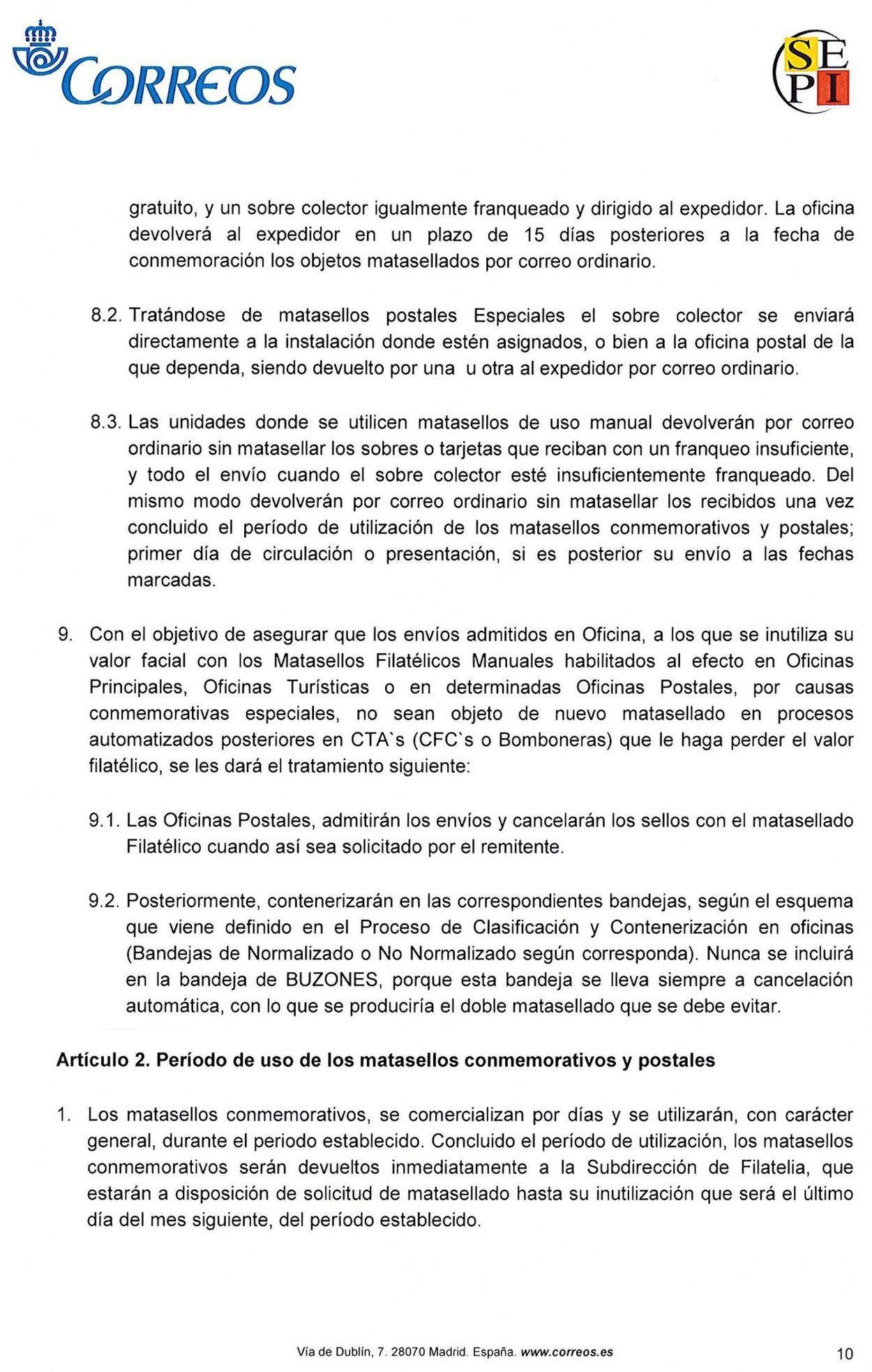 ESPAÑA - MATASELLOS TURÍSTICOS File